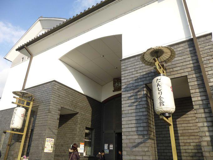 上野公園の観光、まずはだんじり会館からスタート。