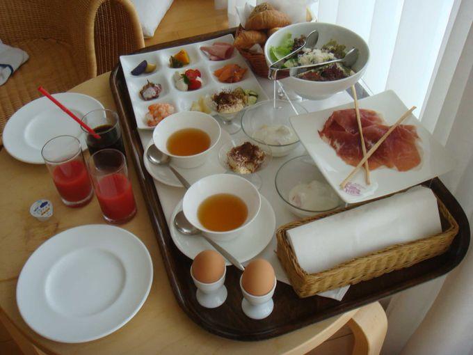 HOTEL SETREの名物は、「ミラノの朝食」