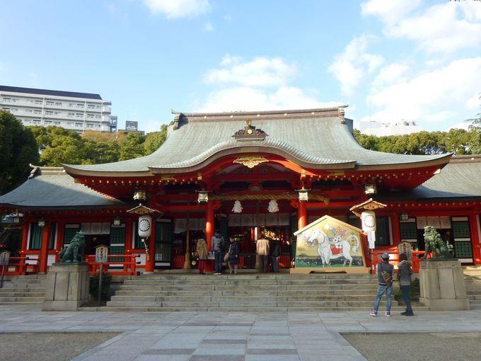 三宮駅から好アクセス。神戸で街ナカ初詣を!兵庫「生田神社」