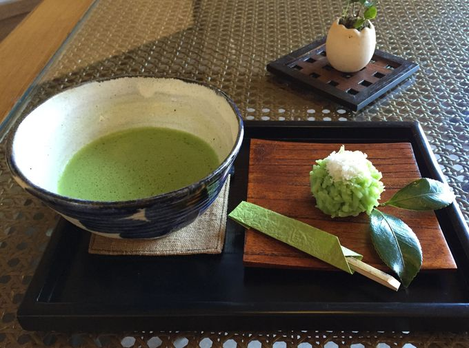 季節の和菓子を楽しむ時間