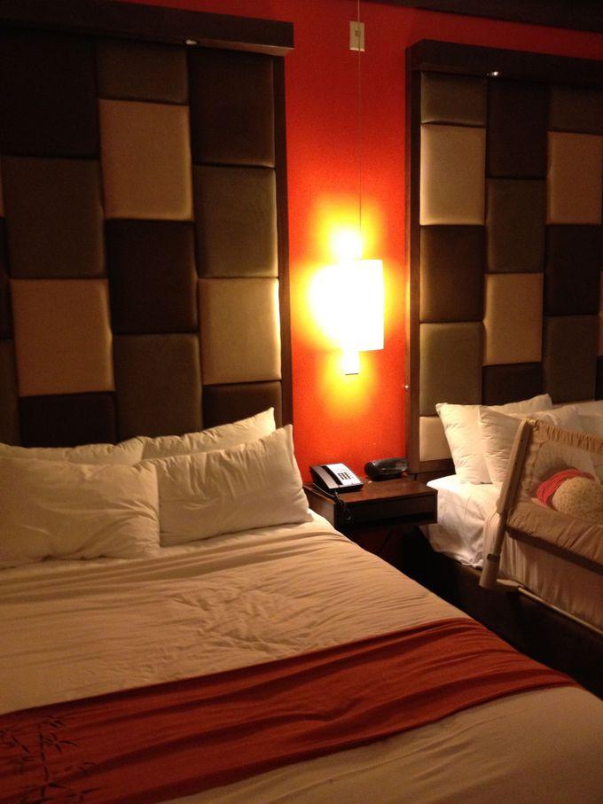 モダンな部屋で快適なホテルステイ。オススメの部屋は?