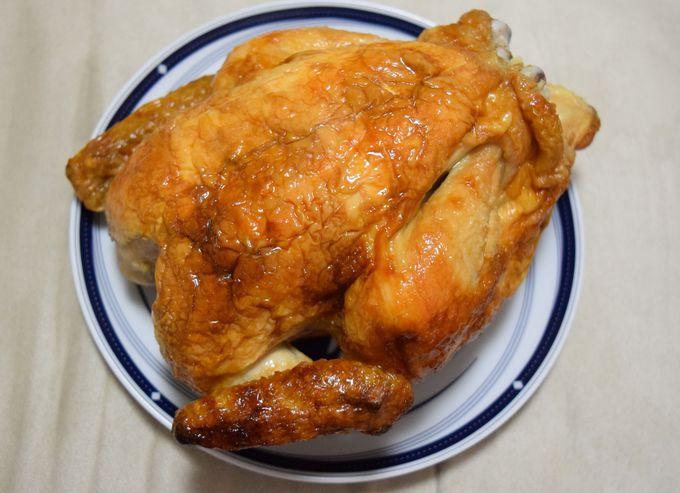 鳥勝「若鶏の丸焼き」