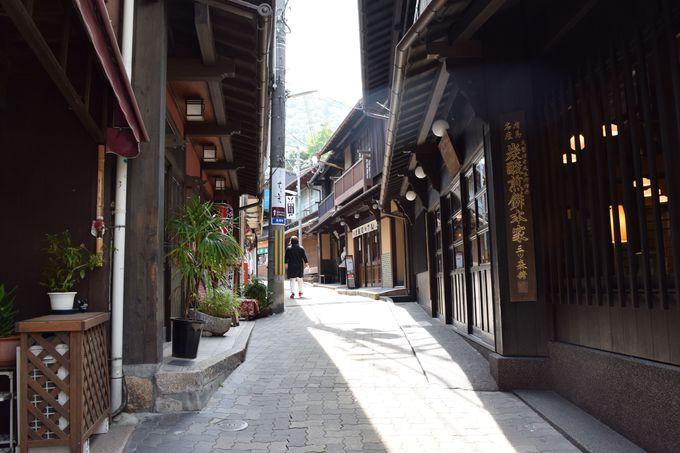 【14:00散策開始】温泉街散策へ。「湯本坂」を観光がてら歩く