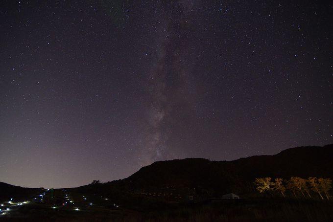 【20:00】夜は満天の星空を。谷川岳天神平「星の観賞会」