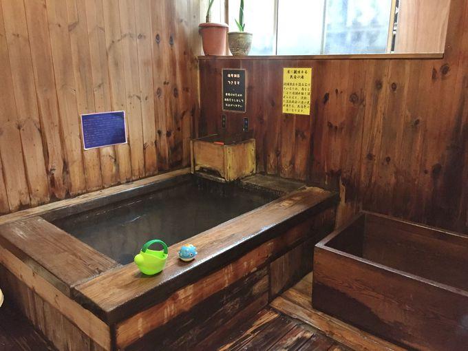 まずは温泉!仲良く入れる家族風呂は3種類