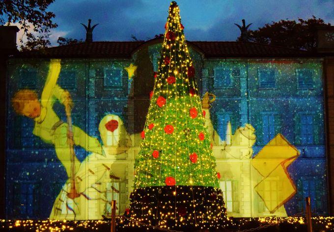フランス式庭園では「ロマンティック・スターリー・ナイト」が開催