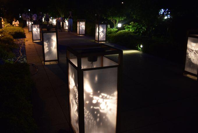 点灯は18時。日が落ちたら江の島灯籠のスタート