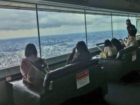 横浜ランドマークタワー「雨の日(視界ゼロ)キャンペーン」で悪天候の観光も満喫!|神奈川県|トラベルjp<たびねす>