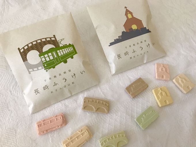 長崎をお菓子で切り取った「長崎ふうけい」