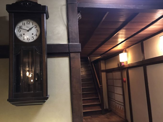登録有形文化財のお宿「源泉 上野屋」