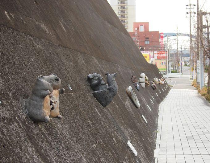 招き猫の生産日本一!願いをこめて『とこなめ招き猫通り』を歩こう♪