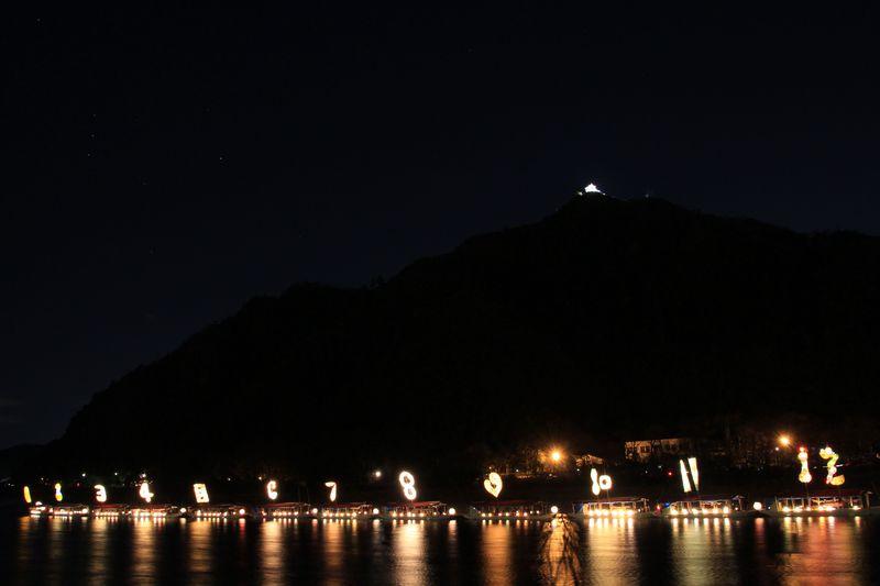 冬至に開催!岐阜の冬の風物詩「こよみのよぶね」を見に行こう!