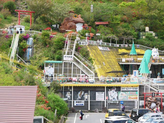 シュールさが魅力のガマランドがある!筑波山