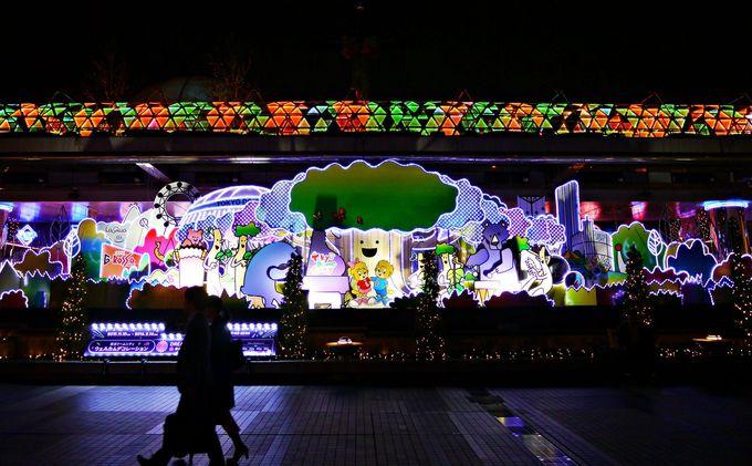 文豪の街、文京区「東京ドームシティ」で開催される音と光のファンタジー!
