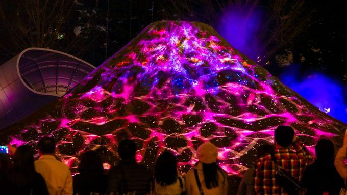 5、東京ミッドタウンの桜と未来に向かう江戸富士