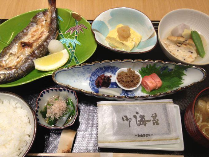 朝ごはんは、こだわりの和食です。