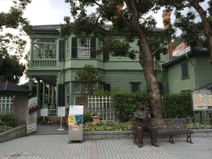 建物や調度品から明治時代の古き良き神戸を感じる