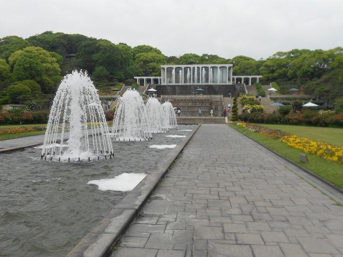 皇室の別荘地「武庫離宮」の史跡が数々残る神戸市立須磨離宮公園