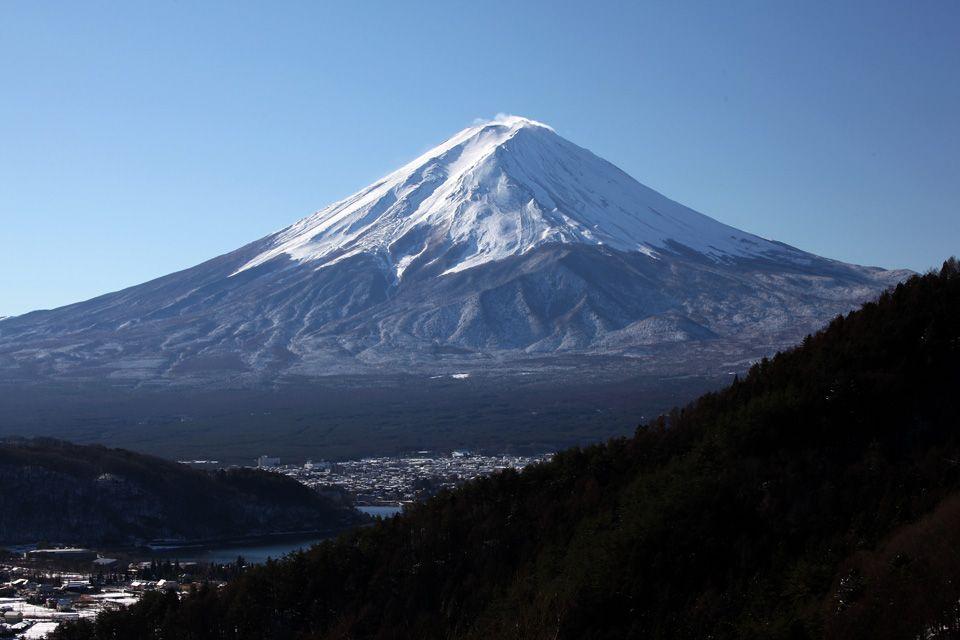 車から降りてすぐに絶景。誰もがネイチャーカメラマンになれる富士山撮影の一等三脚点