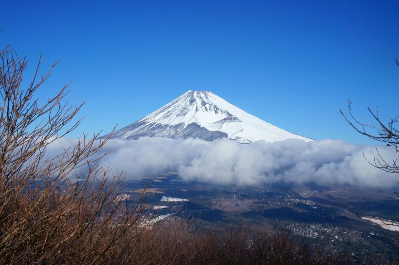 富士見台からの富士山