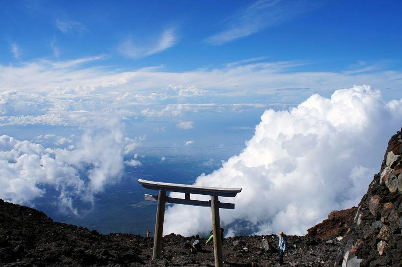 最短距離でダイナミックな眺め「富士宮ルート」(静岡県側)
