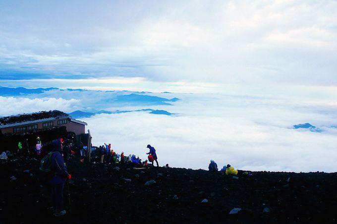 富士山の頂に立つ達成感と感動を体験!