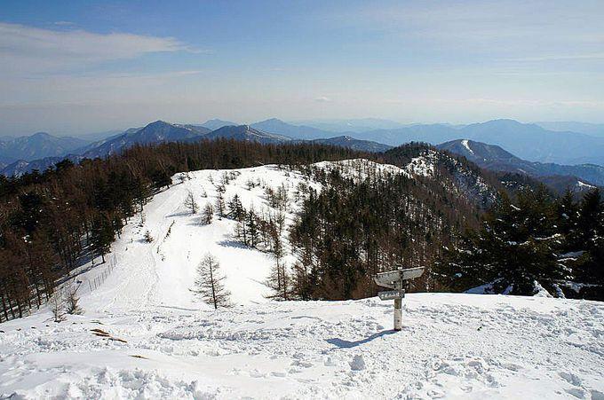 冬の雲取山も魅力一杯!