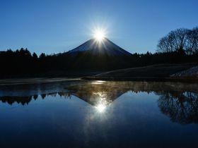 感動的な初日の出!富士本栖湖リゾートでダブルダイヤモンド富士を見よう!