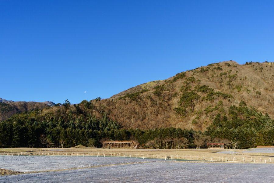 自然溢れるロケーションで気軽にダイヤモンド富士を楽しめる場所!