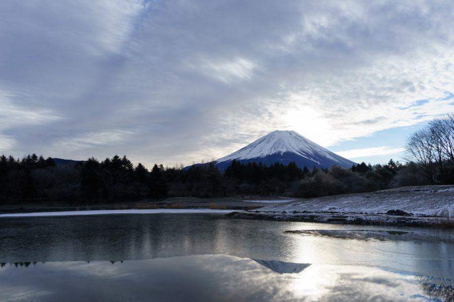 富士本栖湖リゾートの冬の絶景!