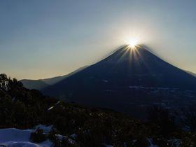 山梨百名山・竜ヶ岳から感動的なダイヤモンド富士を見よう!