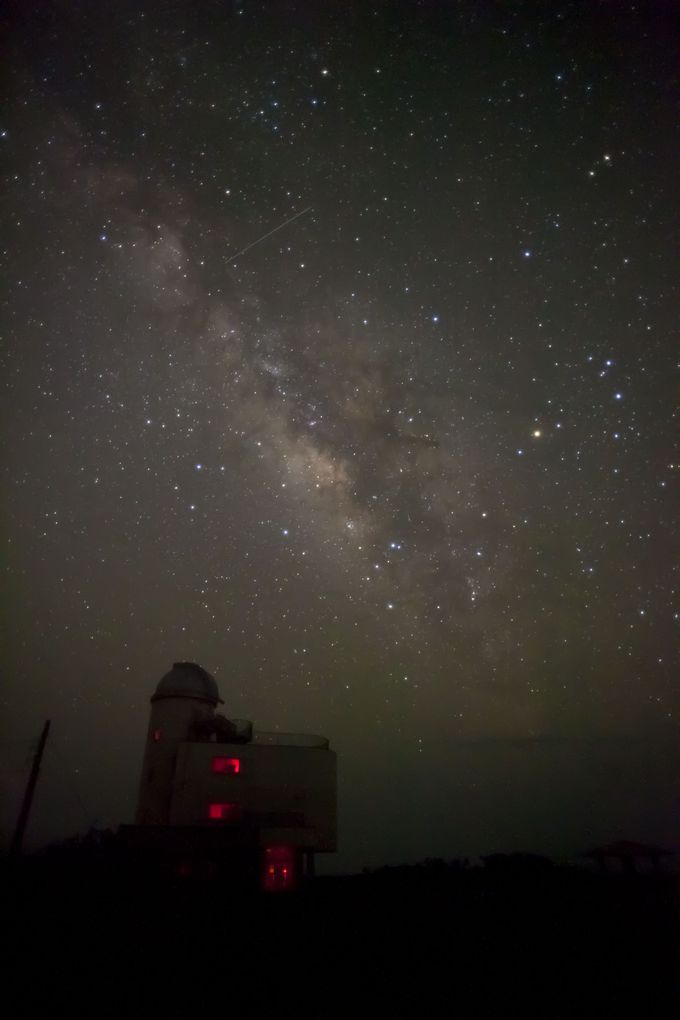 11.星空観測タワーとペンション最南端で南十字星を見てみよう