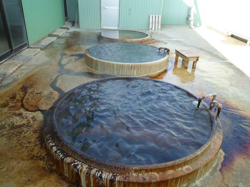 潜入!源泉かけ流しのドカン風呂・函館「西ききょう温泉」