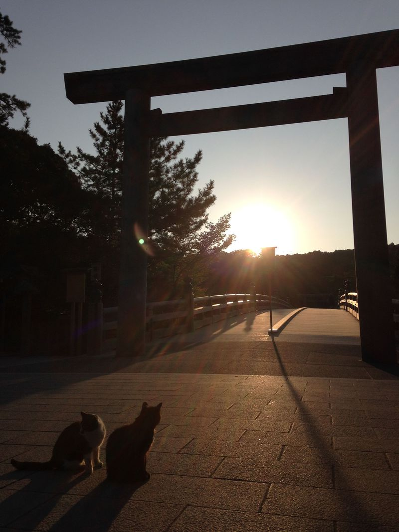 早起きは何文も得!伊勢神宮・内宮、早朝参拝のススメ。内宮に近いおススメ宿は?