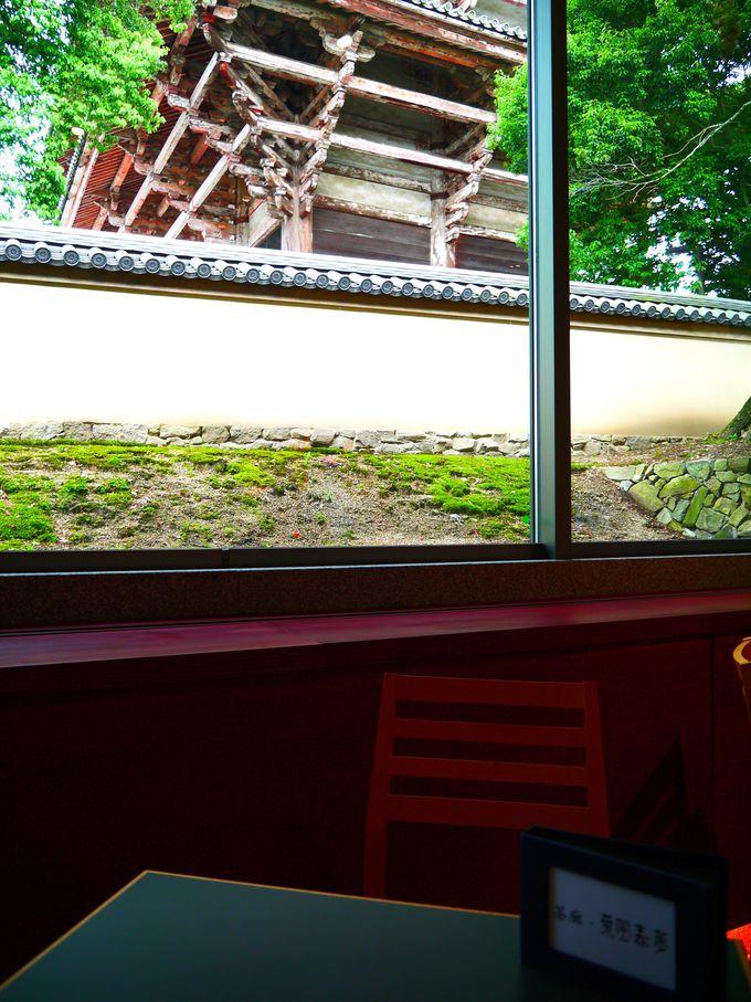 疲れたら甘いもの♪国宝・南大門が目前の絶景カフェで、まったりタイム
