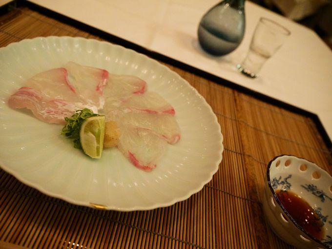夜のミュージアムのまっただなかで瀬戸内海の美味&美酒を満喫♪