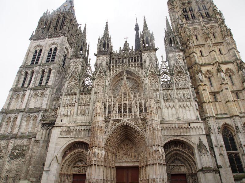フランス・ルーアン大聖堂!モネが愛し、描いた教会に行こう!