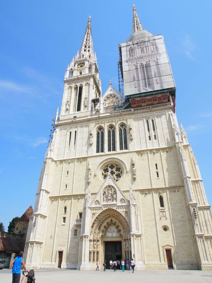 街のシンボル!美しきザグレブ大聖堂