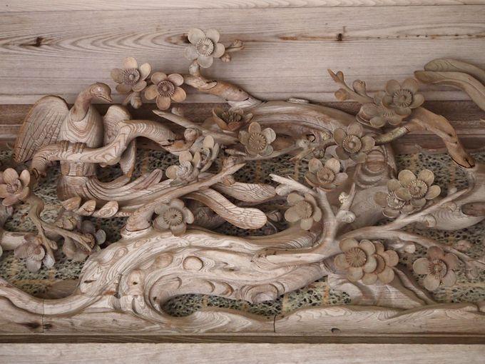 美しい彫刻の寺 勝林院