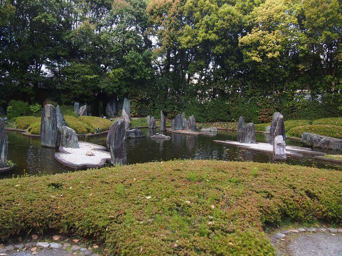 重森三玲の代表作であり、遺作の庭園