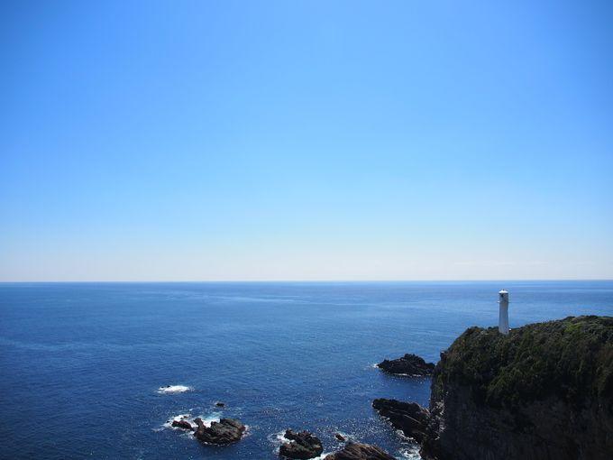 四国最南端は伊達じゃない!目の前一面の青い海と空!