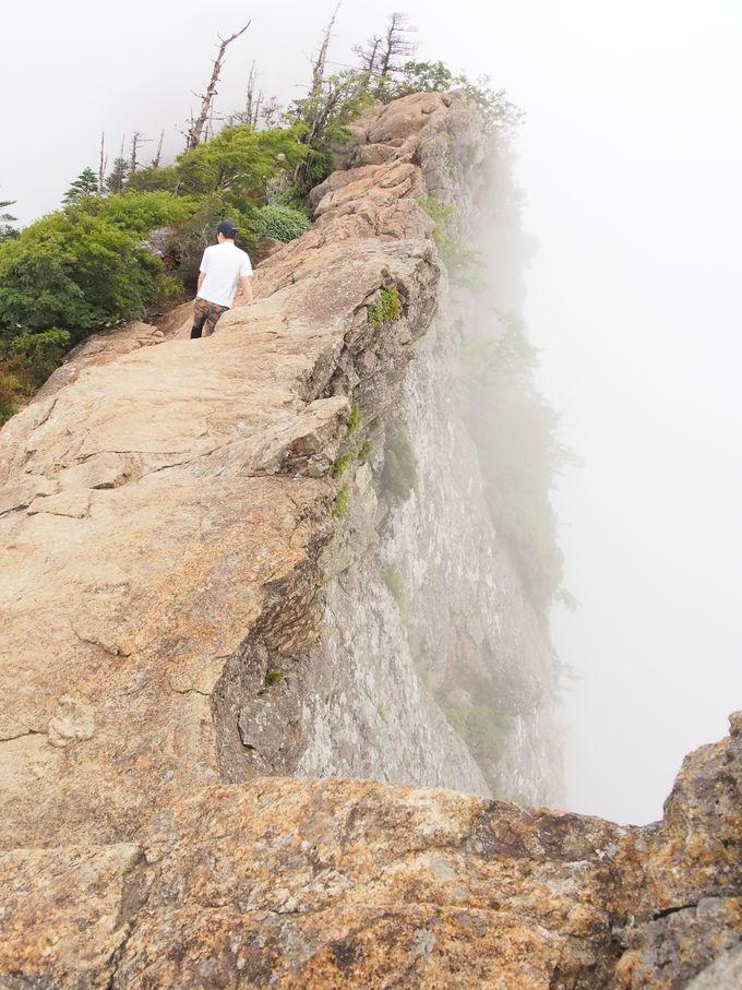 いざ、真の西日本最高峰へ
