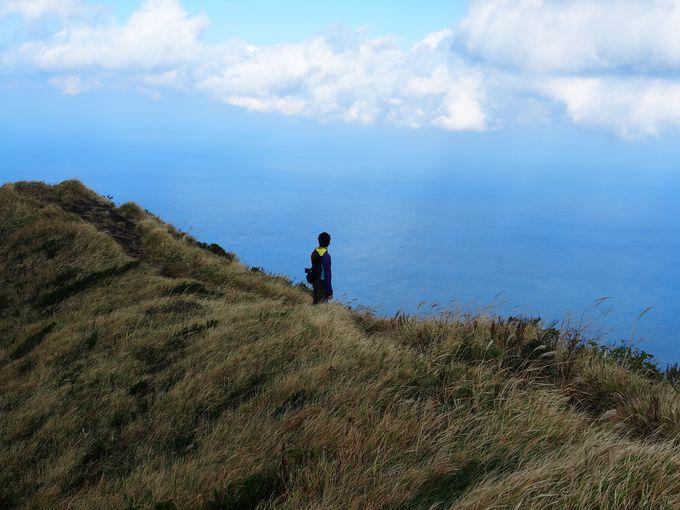 八丈富士!島一番の高さから見渡す景色