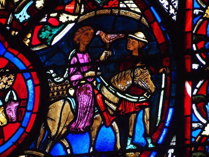 アンティークグラスの宝庫!ブールジュのサンテティエンヌ大聖堂