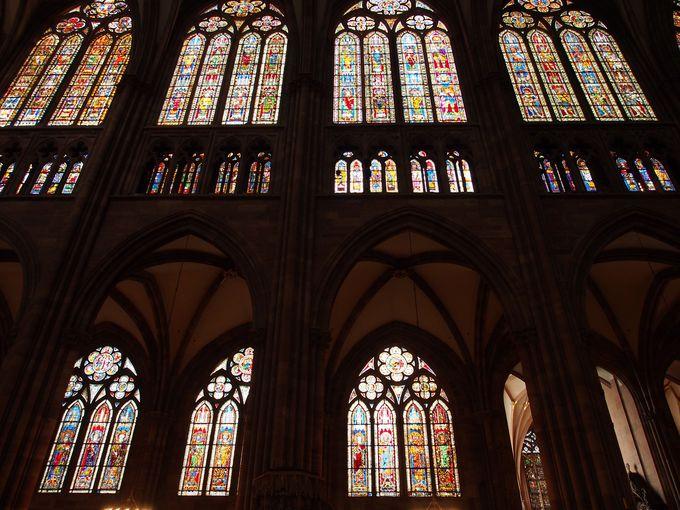 圧巻!4600パネル以上のステンドグラス!ストラスブール大聖堂