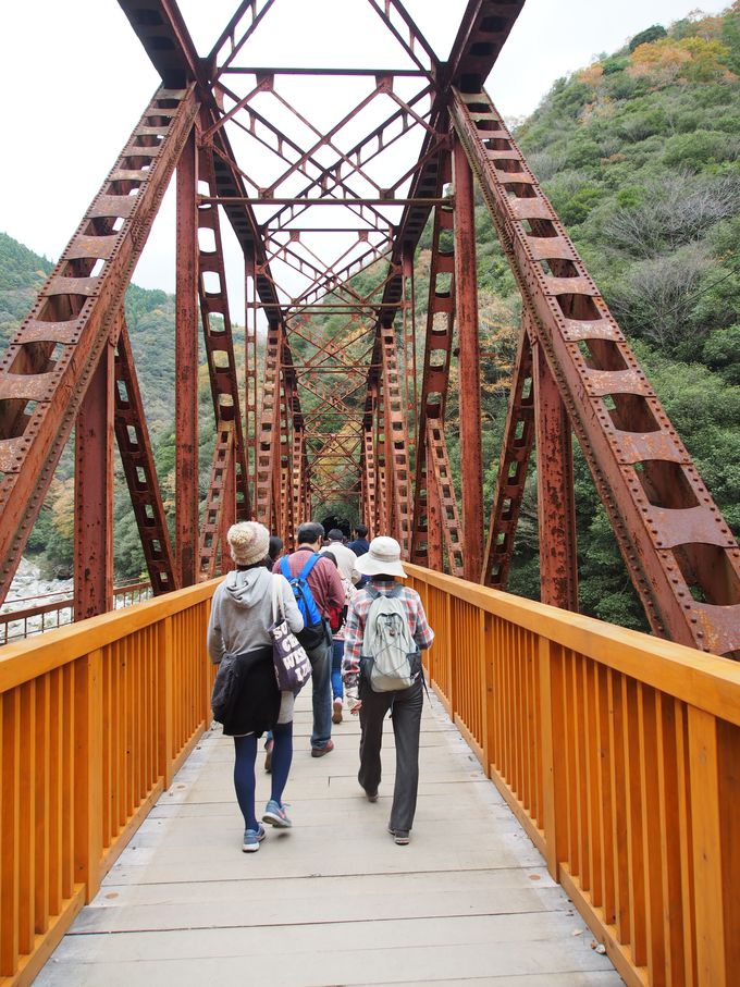 渡れる鉄橋!第二武庫川橋梁