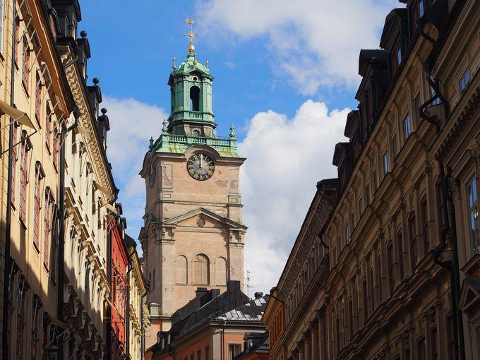 ストックホルムであの塔に出会う!その2.ストックホルム大聖堂
