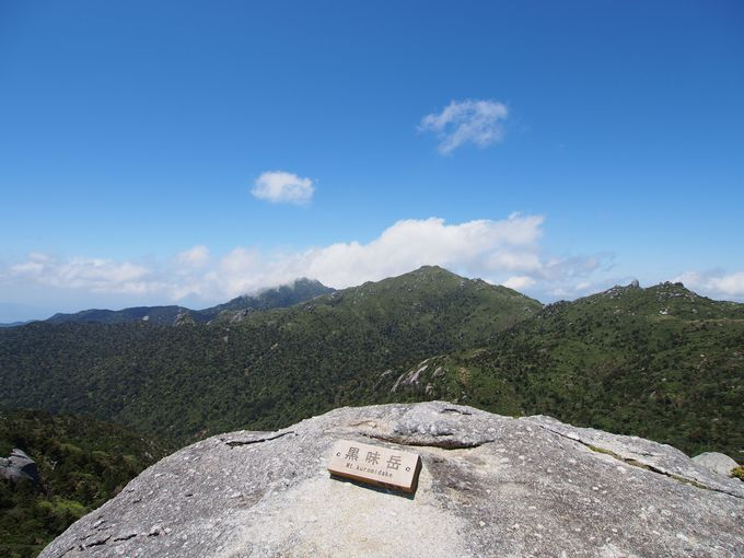 屋久島「黒味岳」は感動必至!世界自然遺産の山岳ビュー