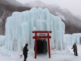 氷のフェスティバル「層雲峡氷瀑まつり」