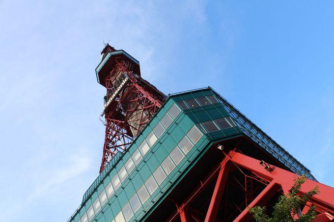 開業56年の歴史ある「さっぽろテレビ塔」